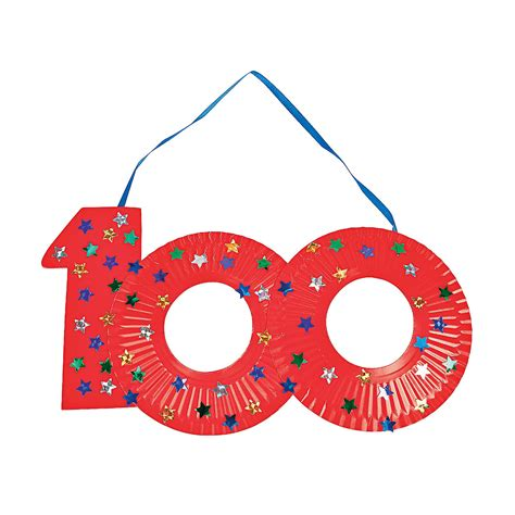printable paper plates paper plate 100th day of school craft idea education