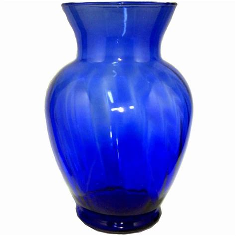 Blue Vase Blue Glass Vase