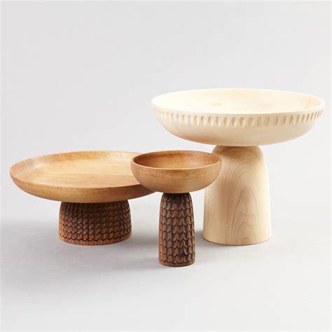 design accessories design crush nera wooden bowls 183 happy interior