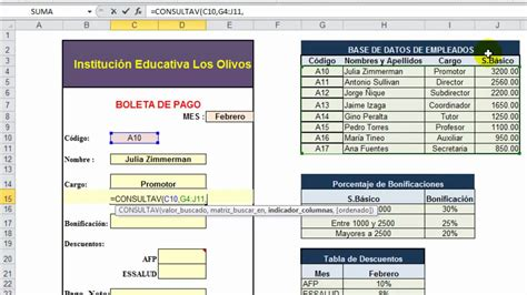 boleta de pago english translation linguee excel basico clase 10 youtube