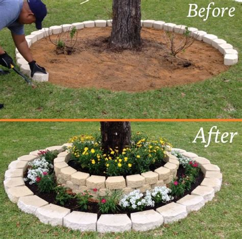 diy home design ideas pictures landscaping landscaping around a tree home design garden