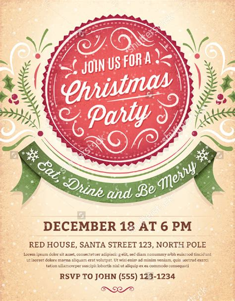 christmas invite template microsoft word 51 invitation template free word psd vector illustrator documents free
