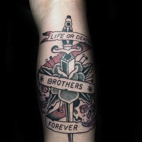 brothers tattoo ideas 60 tattoos for masculine design ideas