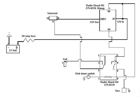 12 volt solenoid wiring diagram basic ignition wiring