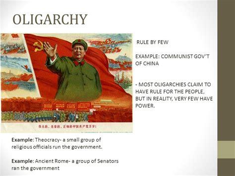 autocracy oligarchy democracy ppt