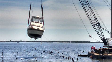 atlantic highlands nj fishing boats hit pilings and sinks in atlantic highlands nj page 3