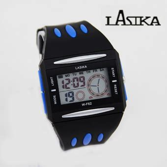 Jam Tangan Sporty Pilot Pria lasika pilot w f62 jam tangan sporty water resistant hitam