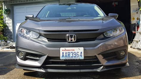 2016 civic front lip front lip thoughts 2016 honda civic forum 10th