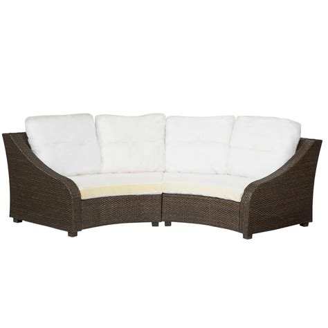 outdoor couch slipcover hton bay edington gray patio sectional chair slipcover