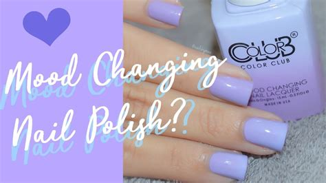 change color with mood mood changing nail