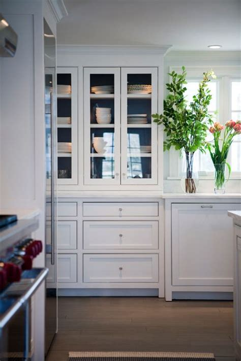 Glass Front Cupboard - best 25 glass cabinets ideas on glass kitchen