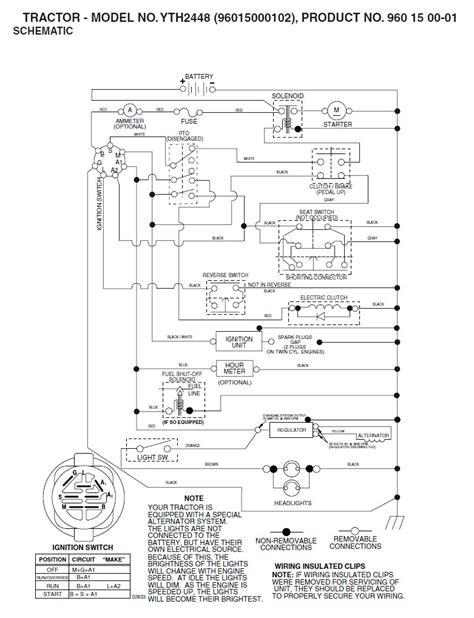 wiring diagram  husqvarna mower  wiring diagram