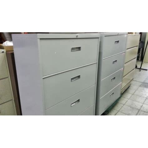 Global 4 Drawer Lateral File Cabinet Global 4 Drawer Lateral Filing Cabinet Grey W Allsold Ca Buy Sell Used Office