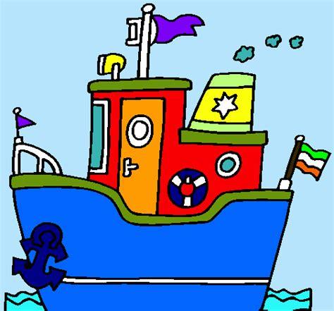 barco con ancla dibujo dibujo de barco con ancla pintado por darin03 en dibujos