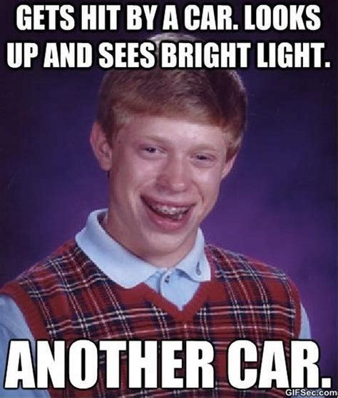 Bad Luck Brian Meme - meme chuck norris lightning like success