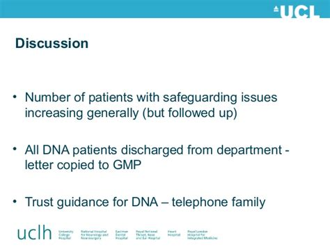 Patient Dna Letter An Audit Of Follow Up Procedures For Patients Failing To Attend Appoi