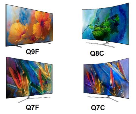 samsung q series differences comparison samsung qled q9 q8 q7 led tv reviews