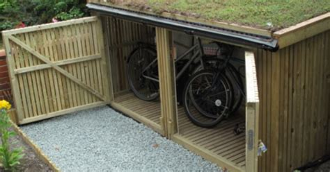 Bike Sheds For Home by Green Roof Bike Shed Home Green Roofs