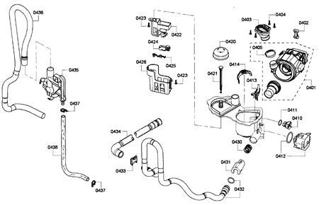 bosch dishwasher parts diagram my bosch she4ap06uc 05 dishwasher has been problems