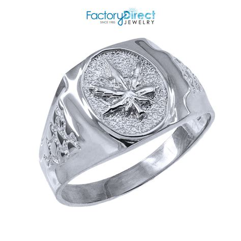 s sterling silver marijuana leaf cannabis ring ebay