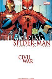 Komik Digital Marvel Iron civil war amazing spider trade paperback civil