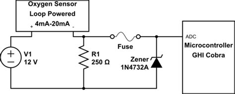zener diode input protection circuit why is a zener diode in a crowbar configuration dropping the input voltage electrical