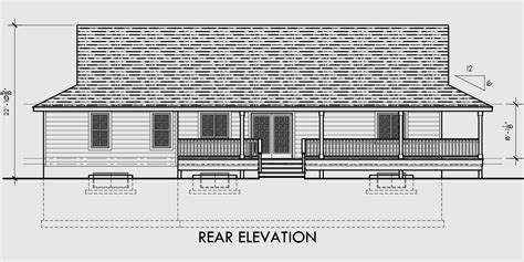 side porch house plans one level house plans house plans with basements