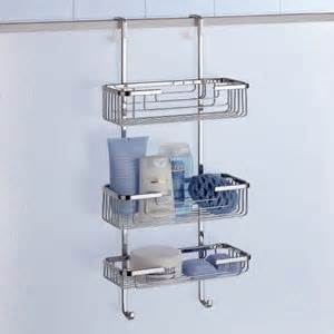 complements hanging shower rack 3 tier 5684