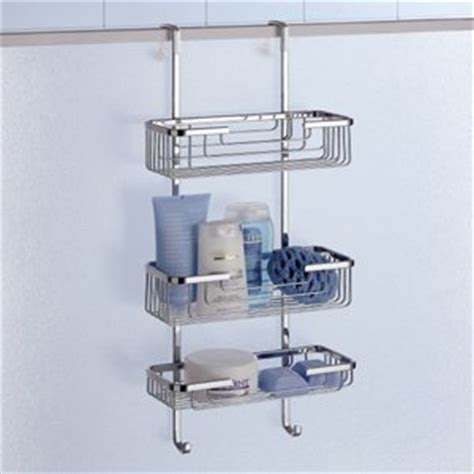 Shower Racks by Complements Hanging Shower Rack 3 Tier 5684 13 Shower Caddies
