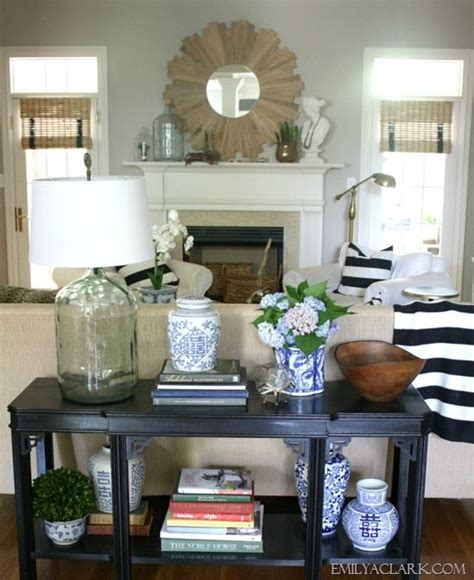 how to decorate a sofa table against a wall 17 best images about vignettes styling on