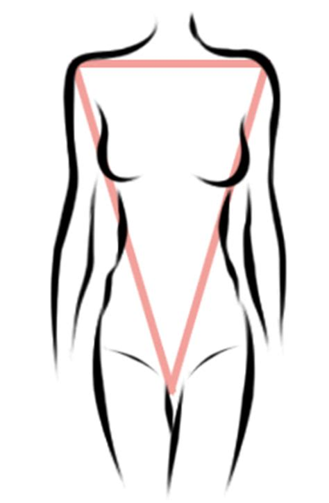 inverted triangle bog stomach 187 the 5 body shapes angela stone