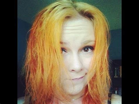 boxed hair die red to blonde red to blonde orange disaster youtube