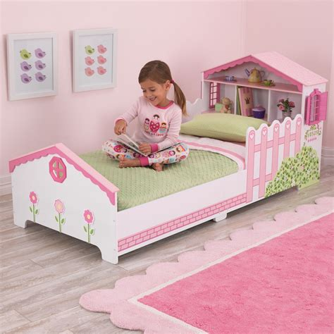 girls toddler beds girls toddler dollhouse bed unique childrens beds