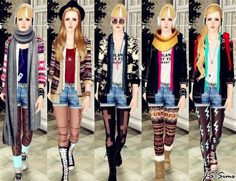 sims 3 outfits js sims 3 layered cardigan outfit set outerwear move