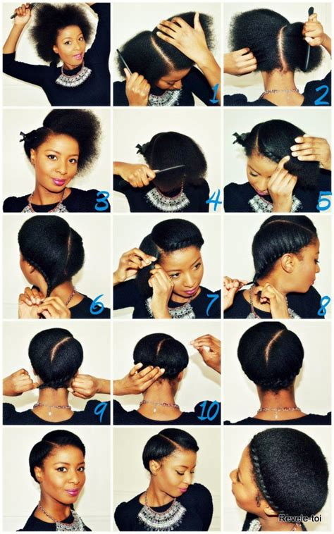 african hairstyles tutorial natural hairstyle tutorial revele toi afro love