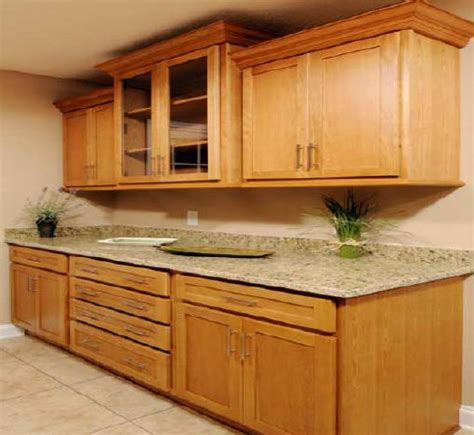 Kitchen Cabinet Furniture by Oak Kitchen Cabinet Pictures And Ideas