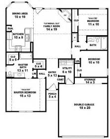 House Plans 1 Story 3 Bedroom House 577sq Plans On One Story Joy Studio