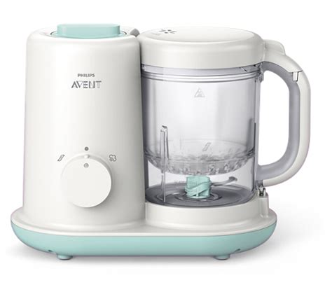Philips Avent Steam Blend Baby Food Maker Processor Steamer Blender 80 essential baby food maker scf862 01 avent