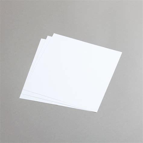 Fold Paper 50 Times - papier direkt shop cards white dl half fold portrait