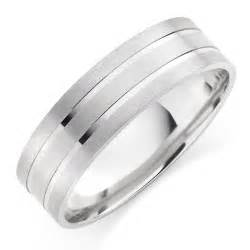 mens wedding rings white gold s 9ct white gold wedding ring 0005010 beaverbrooks