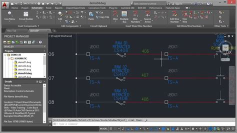 tutorial autocad for electrical autocad electrical 2015 tutorial logic ladder drawings