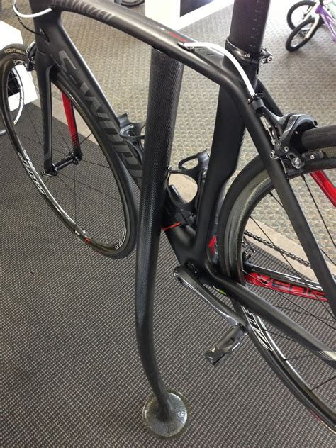 4 Bike Standing Rack by Can T Get Enough Carbon Why Not A Carbon Fiber Pedestal