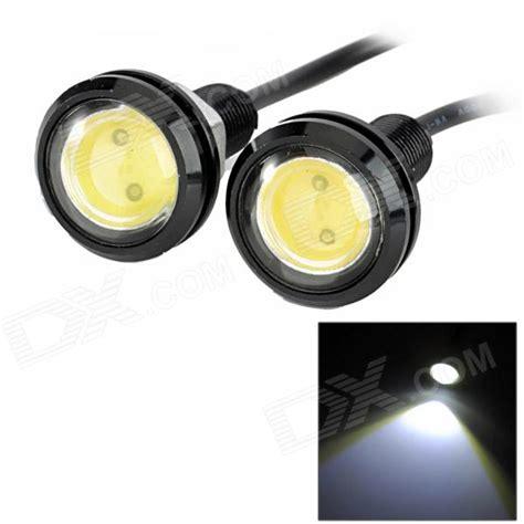 exled 1 5w 110lm led white light eagle light for car 12v pair free shipping dealextreme