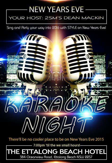 new year song karaoke central coast karaoke ettalong hotel new years