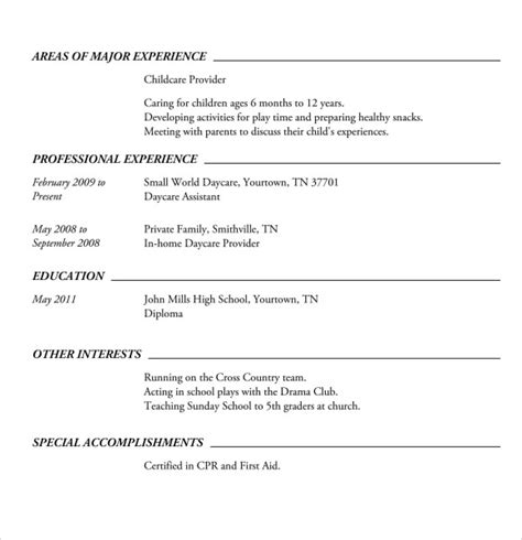 resume examples for highschool students endspiel us
