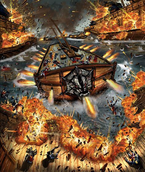 wallpaper yi sun shin admiral yi sun shin s korean turtle ships charging into
