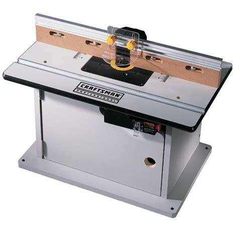 Sears Router Table by Craftsman Professional 26608 Router Table Laminate