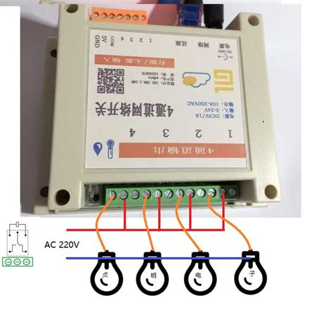 Switch Temperatur Mobil 4 channel network relay switch local remote gprs mobile web software temperature