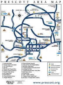 where is prescott arizona on a map prescott area map prescott arizona mappery
