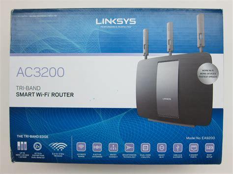 Router Box linksys ea9200 wireless ac3200 tri band smart wi fi router review 171 lesterchan net